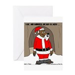Bear Clause Greeting Card