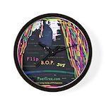 Flip BOp Joy Wall Clock