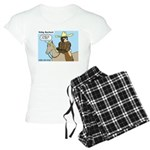 Bear Back Riding Women's Light Pajamas