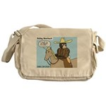 Bear Back Riding Messenger Bag