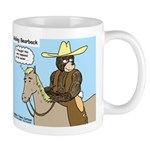 Bear Back Riding Mug