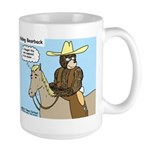 Bear Back Riding Large Mug