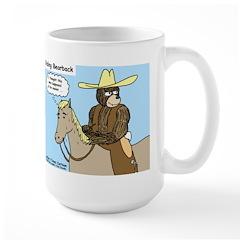 Bear Back Riding Large Mug