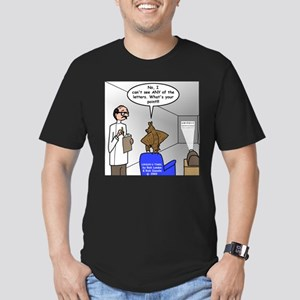 Blind as a Bat Men's Fitted T-Shirt (dark)
