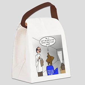 Blind as a Bat Canvas Lunch Bag