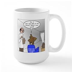 Blind as a Bat Large Mug