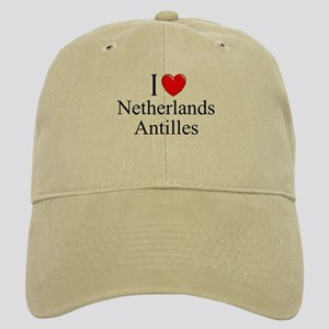 """I Love Netherlands Antilles"" Cap"