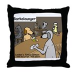 Barkolounger Throw Pillow