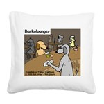 Barkolounger Square Canvas Pillow