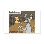 Barkolounger 20x12 Wall Decal