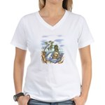 Green Man and Dolphin 082017 T-Shirt