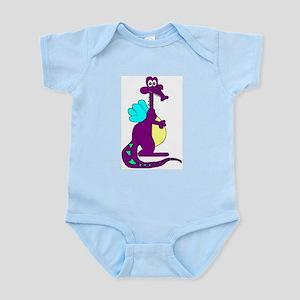 Little Dragon Infant Creeper Body Suit