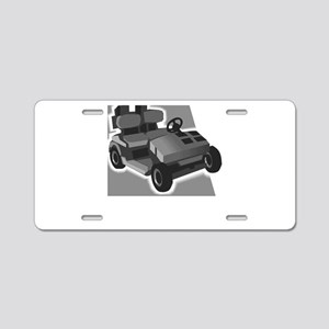 Frankie Aluminum License Plate