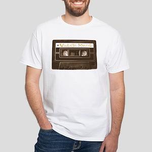 Vintage Muzak - White T-shirt