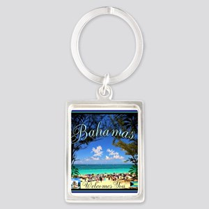 Bahamas Welcomes You Keychains