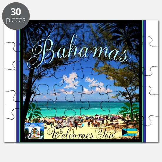 Bahamas Welcomes You Puzzle
