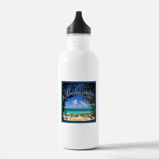 Bahamas Welcomes You Water Bottle