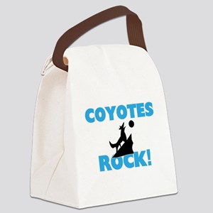 Coyotes rock! Canvas Lunch Bag