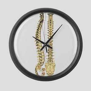 AP-Lat Spine Large Wall Clock