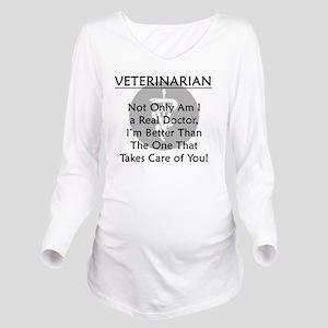 vetrealdoctor Long Sleeve Maternity T-Shirt