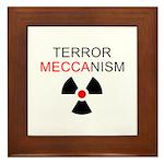 Terror Mechanism Framed Tile