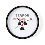 Terror Mechanism Wall Clock