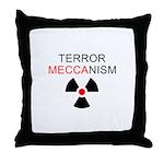 Terror Mechanism Throw Pillow