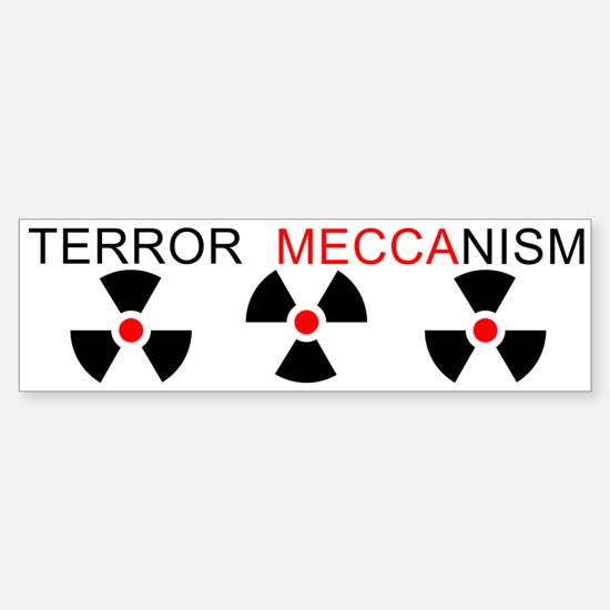 Terror Mechanism Bumper Bumper Bumper Sticker