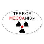 Terror Mechanism Oval Sticker