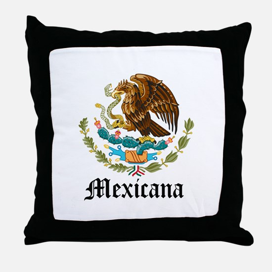 Mexicana Throw Pillow