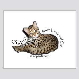 Asian Leopard Cat Small Poster