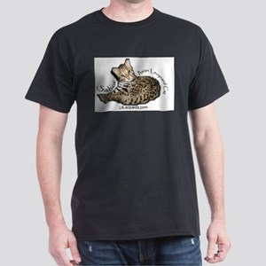 Asian Leopard Cat Dark T-Shirt