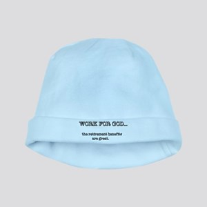 Work For God baby hat