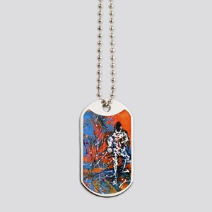 Abstract Epee2 Dog Tags