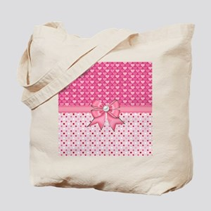 Little Pink Hearts  Tote Bag