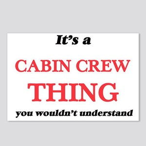 It's and Cabin Crew t Postcards (Package of 8)