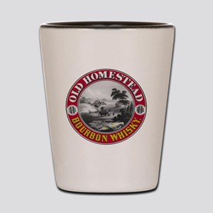 OLD HOMESTEAD BOURBON Shot Glass
