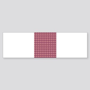 Pattern beige 161 Bumper Sticker