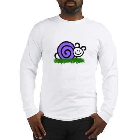 Sam the Snail Long Sleeve T-Shirt
