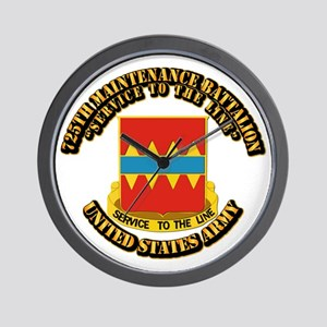 DUI - 725th Maintenance Battalion With Text Wall C
