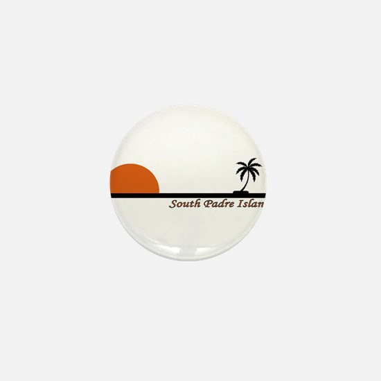 Galveston island Mini Button