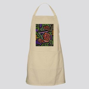 Klee - Heroic Roses, abstract painting by Pa Apron