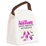Administrative assistant Canvas Lunch Bag