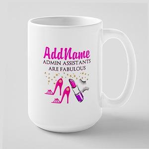 BEST ADMIN ASST Large Mug