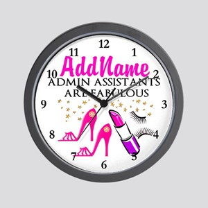 BEST ADMIN ASST Wall Clock