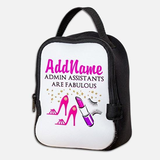 BEST ADMIN ASST Neoprene Lunch Bag