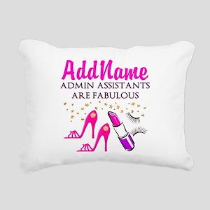 BEST ADMIN ASST Rectangular Canvas Pillow