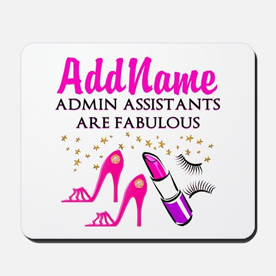 BEST ADMIN ASST Mousepad