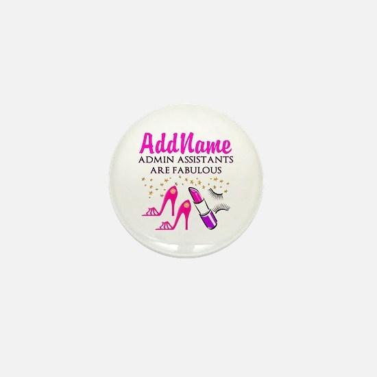 BEST ADMIN ASST Mini Button (10 pack)
