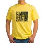 Alien Couple - Yellow T-Shirt